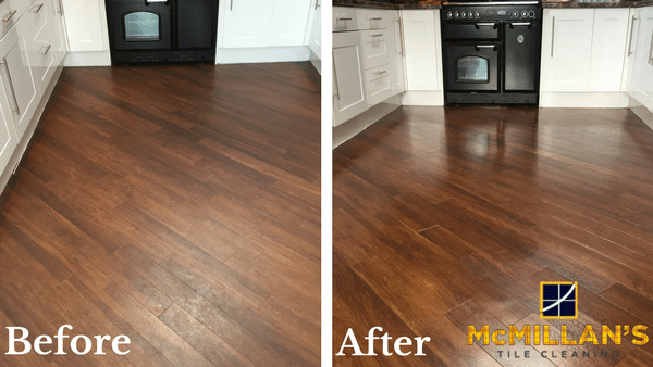 Dark Glasgow Laminate Before & After